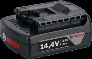 Аккумулятор BOSCH 14.4 V LI 1.5 A/h. Цена 1700 рублей