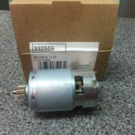 Двигатель Hitachi 14.4 V  код 332-559, 332559. Цена 1500 рублей