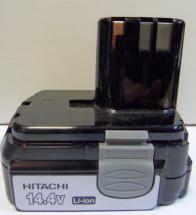 Аккумулятор Hitachi BCL1415  14,4 V 1.5 A/h LI. Цена 2700 рублей