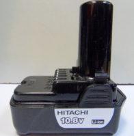 Аккумулятор Hitachi 10,8 V 1.5 A/h LI. Цена 2000 рублей