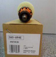 Якорь Hitachi код 360694E. Цена 1900 рублей.