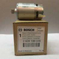 Двигатель BOSCH код 2609199378. Цена 1120 рублей