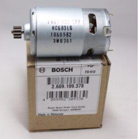Двигатель BOSCH код 2609199378. Цена 1330 рублей