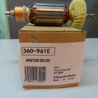 Якорь Hitachi код 360-961E. Цена 1100 рублей