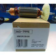 Якорь Hitachi код 360799E. Цена 820 рублей