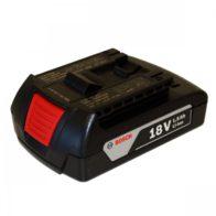 Аккумулятор BOSCH 18 V LI  1,5 A/h. Код 2607336803. Цена 2500 рублей.