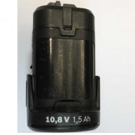 Аккумулятор BOSCH 10,8 V 1.5 A/h. Код 2607336909. Цена 1800 рублей