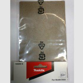 Пробковая подошва для шлиф.машины Makita 9404 код 193202-6. Цена 450 рублей