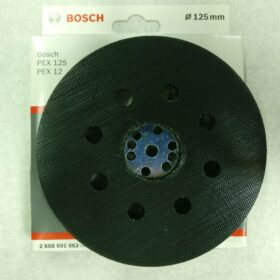 Шлиф. тарелка BOSCH 125 мм код 2608601062. Цена 1290 рублей