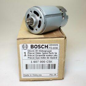 Двигатель BOSCH для GSR 120 LI. Код 1607000C5K. Цена 1290 рублей