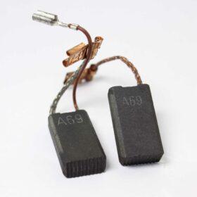 Комплект угольных щеток BOSCH код 1617014144. Цена 520 рублей