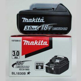 Аккумулятор Makita BL1830. Код 197599-5. Цена 4650 рублей