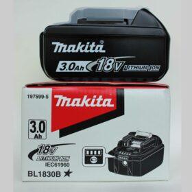 Аккумулятор Makita BL1830. Код 197599-5. Цена 3650 рублей