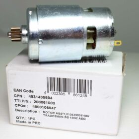 Двигатель AEG 18V код 4931435594. Цена 1500 рублей
