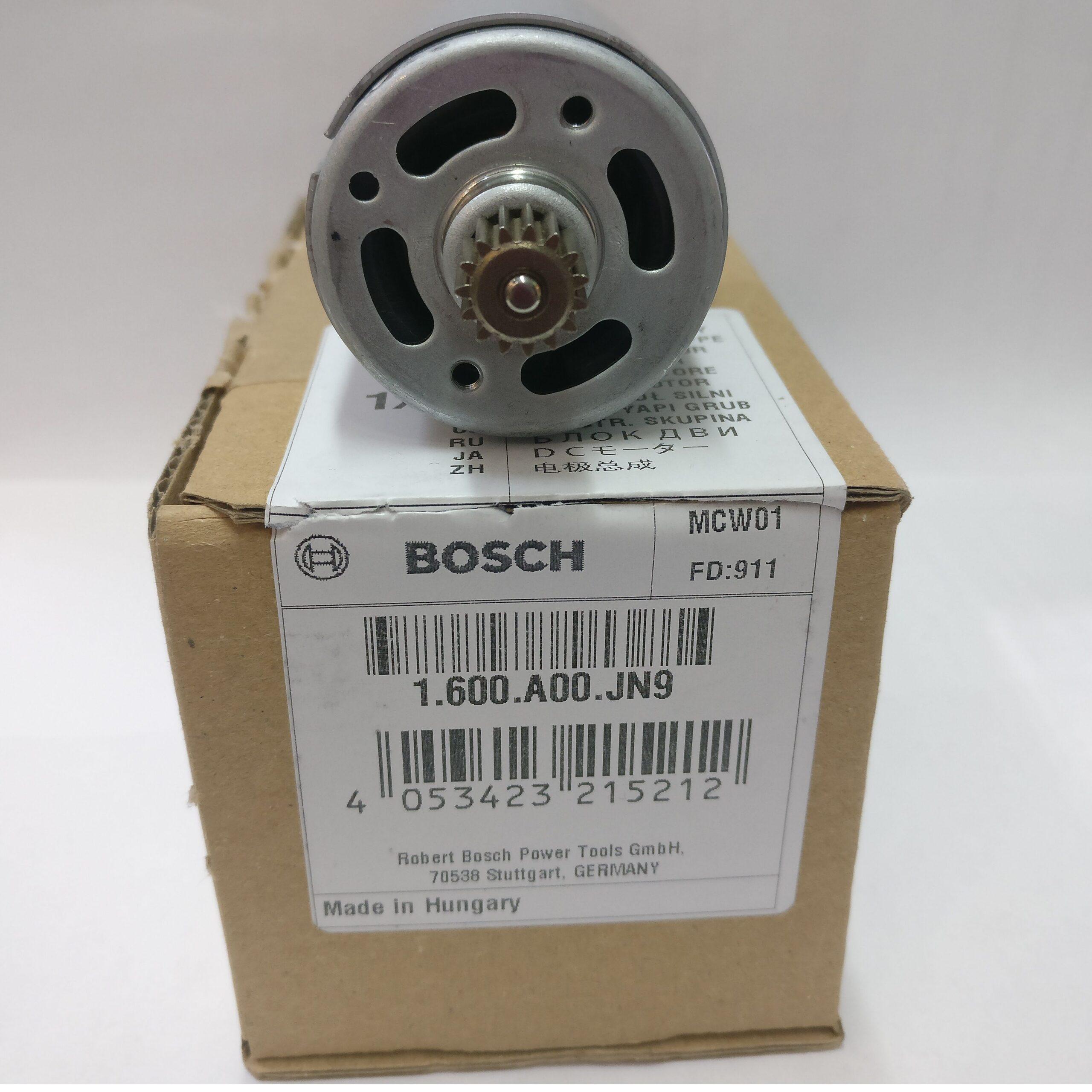 Двигатель BOSCH код 1600A00JN9 для шуруповерта BOSCH PSR 1080 Li EasyDrill 1200