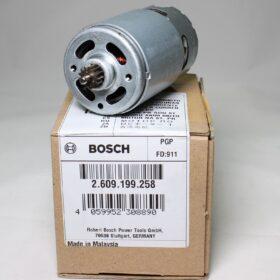 Двигатель для шуруповерта BOSCH. Код 2609199258. Цена 1180 рублей