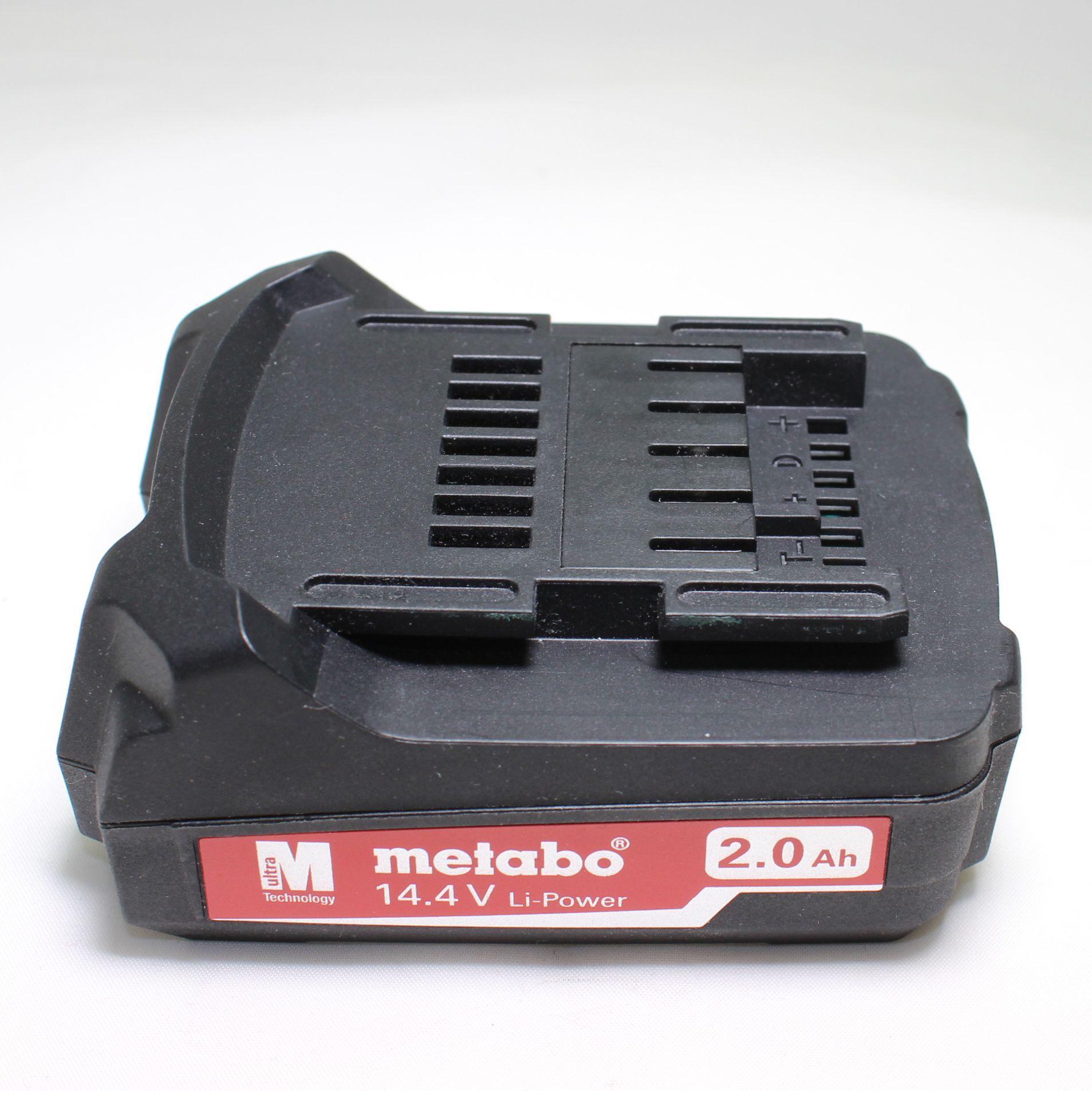 Аккумулятор Metabo 14,4 V 2.0 A/h  код 625595000
