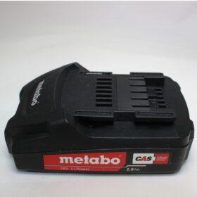 Аккумулятор Metabo 18V 2.0 A/h  код 625596000. Цена 2700 рублей