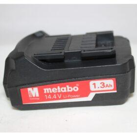 Аккумулятор Metabo 14,4 V 1.3 A/h  код 25581000. Цена 2000 рублей