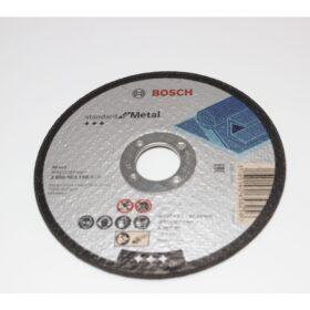 Диск отрезной по металлу (125×22.2 мм) Bosch 2608603166. Цена 50 рублей